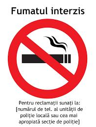 Informatie de presa - Politia Locala Alba Iulia - Atentie la locul de fumat!