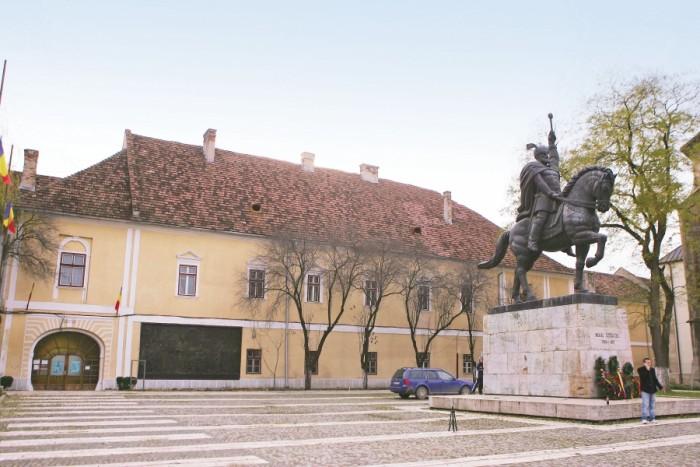 """FIŞĂ DE PREZENTARE proiect """"Conservarea, restaurarea și valorificarea durabilă a Ansamblului Palatului Principilor din Alba Iulia – Centru Expozițional Corp Principal E"""""""