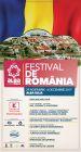 Program Festival de Romania 2017