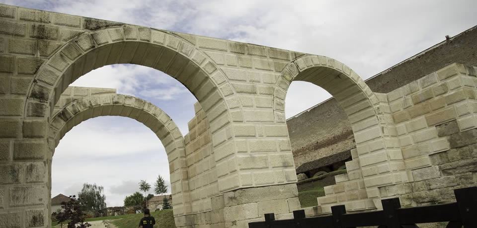Die römische Festung der 13. Legion Gemina